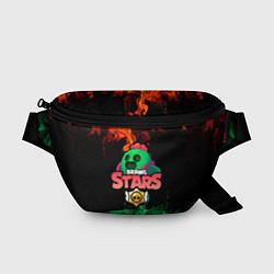 Поясная сумка Spike Brawl Stars цвета 3D — фото 1