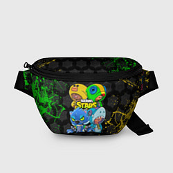 Поясная сумка Brawl Stars Leon Quattro цвета 3D — фото 1