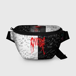 Поясная сумка XXxTENTACION LOGOBOMBING цвета 3D-принт — фото 1