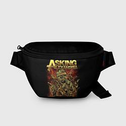 Поясная сумка Asking Alexandria цвета 3D — фото 1