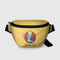 Поясная сумка Fallout 4: Pip-Boy цвета 3D-принт — фото 1