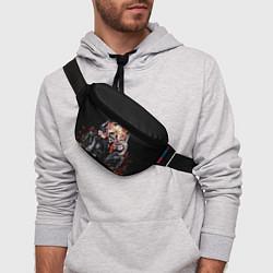Поясная сумка Motorhead Band цвета 3D — фото 2