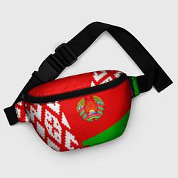 Поясная сумка Патриот Беларуси цвета 3D-принт — фото 2