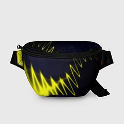 Поясная сумка Молния цвета 3D — фото 1