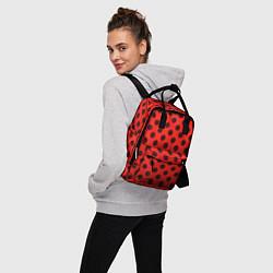 Рюкзак женский Леди Баг: узор цвета 3D-принт — фото 2
