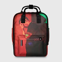 Рюкзак женский Dolphin Pain цвета 3D-принт — фото 1