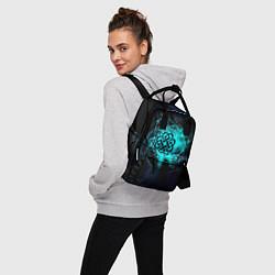 Рюкзак женский Breaking Benjamin цвета 3D — фото 2
