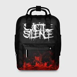 Рюкзак женский Suicide Silence: Red Flame цвета 3D-принт — фото 1