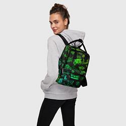 Рюкзак женский BILLIE EILISH: Grunge Graffiti цвета 3D — фото 2