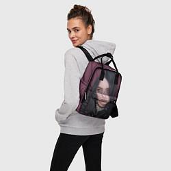 Женский городской рюкзак с принтом BILLIE EILISH, цвет: 3D, артикул: 10201690905839 — фото 2