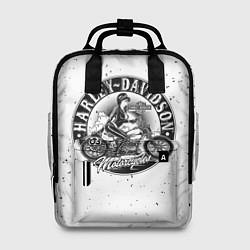 Рюкзак женский HARLEY DAVIDSON цвета 3D-принт — фото 1