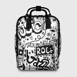 Рюкзак женский Rock цвета 3D-принт — фото 1