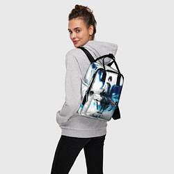 Рюкзак женский Саске учиха Наруто цвета 3D — фото 2