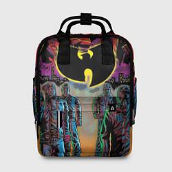 Рюкзак женский Wu-Tang Clan: City цвета 3D-принт — фото 1