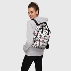 Рюкзак женский Любимые панды цвета 3D — фото 2