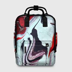 Рюкзак женский Разводы цвета 3D — фото 1