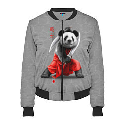 Бомбер женский Master Panda цвета 3D-черный — фото 1