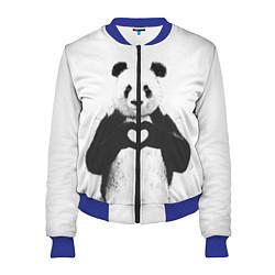 Женский бомбер Panda Love