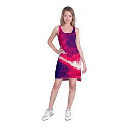 Туника женская Брызги красок цвета 3D — фото 2