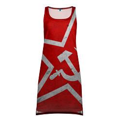 Женская туника Флаг СССР: Серп и Молот