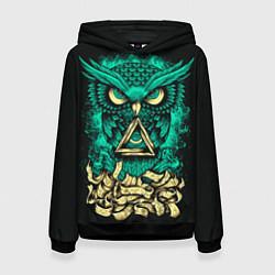 Толстовка-худи женская Bring Me The Horizon: Owl цвета 3D-черный — фото 1