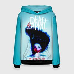 Толстовка-худи женская Dead by April: Incomparable цвета 3D-черный — фото 1