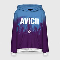 Толстовка-худи женская Avicii Star цвета 3D-белый — фото 1