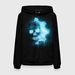 Толстовка-худи женская Gears of War: Death Shadow цвета 3D-черный — фото 1