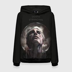 Толстовка-худи женская Death Stranding: Mads Mikkelsen цвета 3D-черный — фото 1