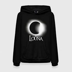 Толстовка-худи женская Louna цвета 3D-черный — фото 1