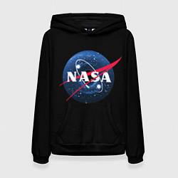 Толстовка-худи женская NASA Black Hole цвета 3D-черный — фото 1