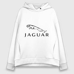 Толстовка оверсайз женская Jaguar цвета белый — фото 1