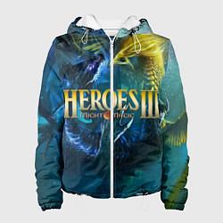 Куртка с капюшоном женская Heroes of Might and Magic цвета 3D-белый — фото 1