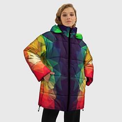 Куртка зимняя женская Grazy Poly VPPDGryphon цвета 3D-черный — фото 2