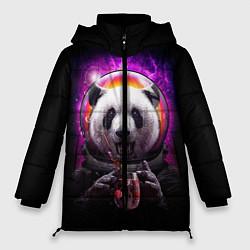 Куртка зимняя женская Panda Cosmonaut цвета 3D-черный — фото 1