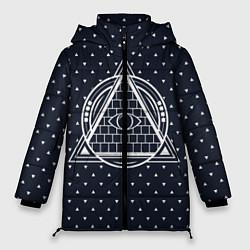 Куртка зимняя женская Illuminati цвета 3D-черный — фото 1