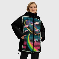 Куртка зимняя женская Led Zeppelin: Colour Fly - фото 2