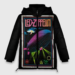Куртка зимняя женская Led Zeppelin: Angel Poster - фото 1