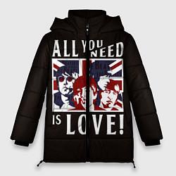 Куртка зимняя женская All You Need Is Love - фото 1