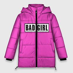 Куртка зимняя женская BAD GIRL цвета 3D-черный — фото 1