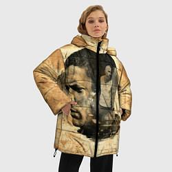Куртка зимняя женская Prison Break: Scofield Art цвета 3D-черный — фото 2