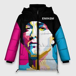 Куртка зимняя женская Eminem Poly Art цвета 3D-черный — фото 1