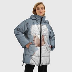 Женская зимняя 3D-куртка с капюшоном с принтом Stray Kids, цвет: 3D-черный, артикул: 10184854506071 — фото 2