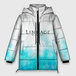 Женская зимняя 3D-куртка с капюшоном с принтом LINEAGE 2, цвет: 3D-черный, артикул: 10202647706071 — фото 1
