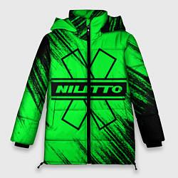 Женская зимняя 3D-куртка с капюшоном с принтом NILETTO, цвет: 3D-черный, артикул: 10210975106071 — фото 1