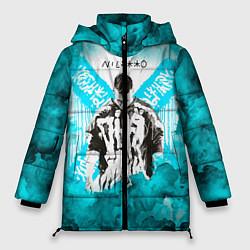 Женская зимняя 3D-куртка с капюшоном с принтом NILETTO, цвет: 3D-черный, артикул: 10211253306071 — фото 1