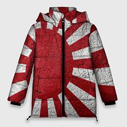 Женская зимняя 3D-куртка с капюшоном с принтом ЯПОНИЯ ГРАНЖ, цвет: 3D-черный, артикул: 10246801906071 — фото 1