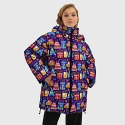 Куртка зимняя женская День рождения - фото 2