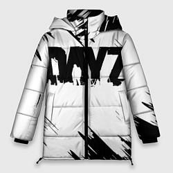 Женская зимняя 3D-куртка с капюшоном с принтом Dayz, цвет: 3D-черный, артикул: 10287511506071 — фото 1