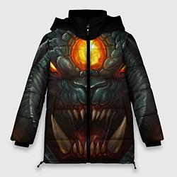 Женская зимняя 3D-куртка с капюшоном с принтом Roshan Rage, цвет: 3D-черный, артикул: 10064261006071 — фото 1